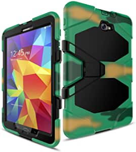 FastSun 混合坚固硬质防震保护套适用于三星 Galaxy Tab E 9.6 英寸 T560