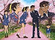 500片 拼图游戏 名侦探柯南 樱花飞舞的季节(38×53厘米)