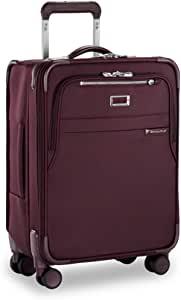 Briggs & Riley Baseline-Softside CX 可扩展万向轮行李箱 梅红色 Wide-Body Carry-On 21-Inch