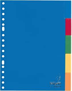 Kangaro A5 文件夹 PP 120 微米 17 个 5 个分类标签 25 个装