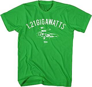 美国经典回到未来 1.21 男式 Gigawatts Delorean T 恤
