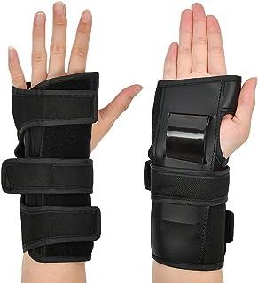 """N/A"" 1 对滑板护腕 - 大号滑板护腕,成人冲击护腕,防护滑板手套,用于滑板滑轮滑滑板,摩托车越野赛"