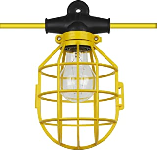 Sunlite EX50-14/2/SL 50 英尺 5 灯泡 白炽灯 临时 便携式字符串 工作灯光,黄色 黄色 50 Foot 4223 需配变压器