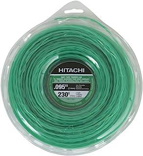 Hitachi 113009 52 件 0.095 英寸静音修剪线,16 英寸线 Large Donut 113001