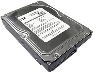 "WL 3TB 7200RPM 64MB 缓存 SATA 6.0Gb/s 3.5"" 台式机硬盘(适用于服务器、RAID、NAS、DVR、台式机 PC)w/1 年保修"