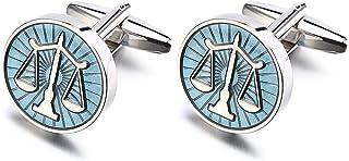 LEPTON 法律秤袖扣,为法律工作者设计的袖扣,配有精致的礼品盒,非常适合庄严和重要场合