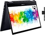 ASUS 華碩 VivoBook Flip TM420IA 全高清 14 英寸觸摸屏可轉換筆記本電腦(AMD Ryzen 3 4300U,8GB 內存,128 GB SSD,Windows 10 Home) 包括手寫筆 + 手寫筆支架