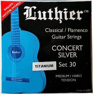 Luthier Set 30 钛音乐会银色经典弗拉门戈吉他弦
