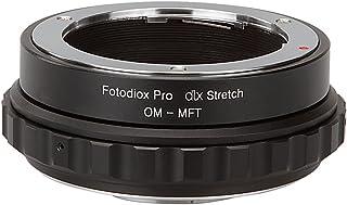 Fotodiox DLX 伸缩镜头安装适配器 - Olympus *ko (OM) 35mm SLR 镜头至微型四分之一(MT、M4/3)安装无镜像相机机身,带微距焦螺旋角质感和磁性插入过滤器