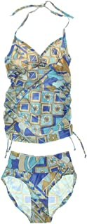 Japanese Weekend 女士 Side Ruched Tankini Swim Suit