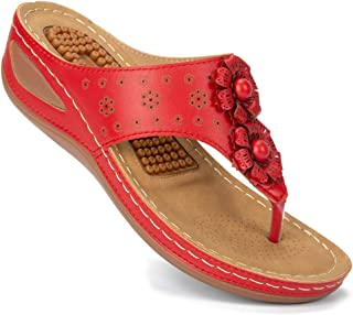 Ecetana 女式舒适夏季凉鞋