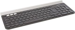 Logitech 罗技 K780 多设备无线键盘 适用于 Windows、Mac、Chrome OS、iOS、Android(German Layout 德语版本 QWERTZ布局)