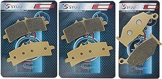 SYUU 摩托车零件前刹车片刹车片适用于铃木 GSX 1300 R Hayabusa 2013 2014 2015 FA447F FA419R