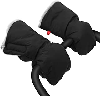 婴儿推车手套,超厚手推车护手罩保暖冬季婴儿推车手套,防水防冻车护手套 适用于家长和看护人员