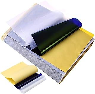 """纹身转印纸 - Emalla 30 张纹身模板纸热模板纸 4 层 8 1/2"""" x 11"""" DIY 纹身纸 适用于模板转印机"""