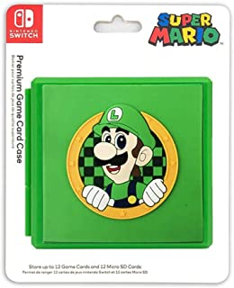 Adventure Games - Luigi, Wave - 高级游戏卡套 - 兼容 Nintendo Switch