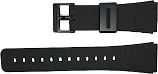 Casio 卡西欧 22 毫米黑色树脂黑色扣