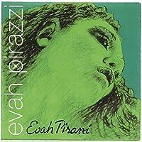 Pirastro Evah Pirazzi 1/2-3/4 小提琴弦套装 - 中号 - 钢制球端 E