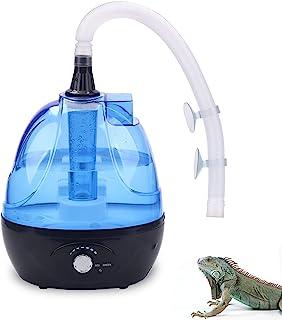 爬行动物雾化器加湿器雾机长,带 2.5 升可视水箱,适用于所有玻璃箱和外壳,为爬行动物/两栖动物/植物/*/植物/植物/植物/植物/植物/植物/植物/植物/植物/植物/植物/植物/植物/苔藓提供所需的湿度 需配变压器