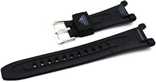 Casio 卡西欧 黑色树脂 Pathfinder 系列手表腕带 – 18 毫米