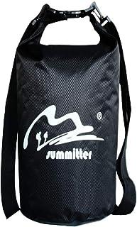 Summitter-Dry 防水超轻,5L/10L/15L/20L/30L /40L 耐用柔软干燥湿分离防水背包,沙滩包适合划船、皮划艇。漂浮、划独木舟、徒步旅行