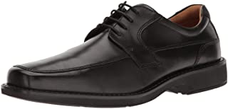ECCO 爱步 Seattle Apron-Toe 男士牛津布皮鞋