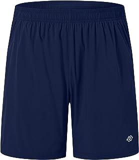 Akula 男士健身跑步短裤 7 英寸(约 17.8 厘米)拉链口袋轻质健身运动训练慢跑者运动短裤