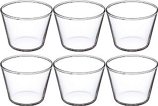 怡万家(iwaki)果冻型透明 100毫升 布丁杯 (KBT904) 6件套