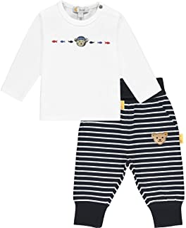 Steiff 婴儿 - 男孩套装 裤子 + T 恤套装 裤子 + T 恤