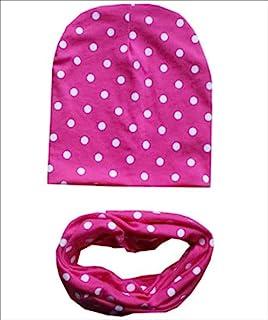 micia luxury(米西亚奢华)2件套 儿童 棉包头套+棉围脖 dot rose