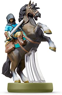 Nintendo 任天堂 amiibo 游戏手办人偶 林克(骑乘)【旷野之息 】(塞尔达传说系列)