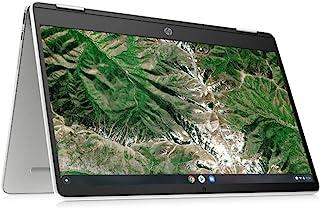 HP 惠普 Chromebook x360 14a-ca0217ng (14英寸 / HD Touch) 2合1 变形笔记本电脑(英特尔赛扬 N4020,4GB LPDDR4内存,64GB eMMC,Intel UHD 显卡,Chrome O...