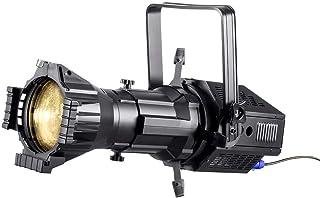 Monoprice COB LED 椭圆 - 白色   3200K 19 度带Gobo 支架,200W,3 通道 DMX 控制