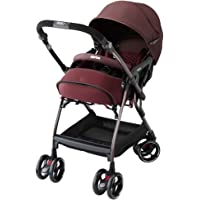 Aprica 阿普丽佳 Optia PremiumAB 婴儿车 [対象] 1ヶ月 ~ 36ヶ月 拉带棕色