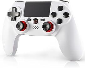 PS4 游戏控制器,Playstation 4 无线遥控器,双振动,LED 指示灯,触摸板和防滑操纵杆控制器兼容 Playstation4/Pro/Slim/PC/笔记本电脑
