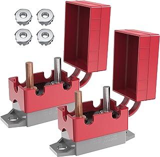自动复位断路器,Ancable 2 件装 50 安培可循环自动复位断路器 DC 12V - 24V 保险丝带盖螺栓 适用于汽车船舶卡车 RV 公交摩托车船电池充电器