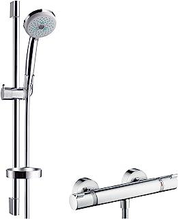 Hansgrohe 汉斯格雅 柯洛玛 100多功能 / Ecostat 1001SL 27086000 淋浴组合 65厘米镀铬尤尼卡C型淋浴杆