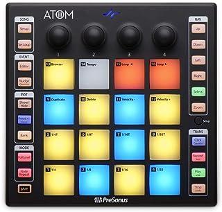 PreSonus ATOM 生产和性能平板控制器,带 Studio One Artist 软件