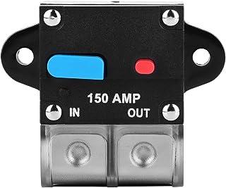 Vensans 断路器 150A 断路器 自动复位保险丝支架 适用于汽车汽车
