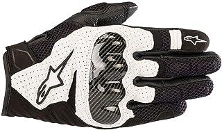 Alpinestars 摩托车手套 Smx-1 Air V2 手套黑色 XXL 黑色 357051812-XXL