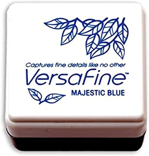Versafine 小号墨水垫 Tsukineko 速干颜料墨水,Majestic 蓝色