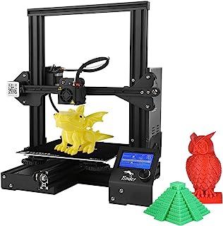 Nishore Creality Ender 3 打印机 3D 打印机带简历打印功能 220 x 220 x 250 毫米打印尺寸 DIY 3D 打印机自组装适用于办公室和学校使用