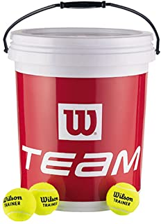 Wilson 威尔胜 Trainer in Bucket 网球 WRT131200 黄色