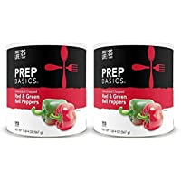 Prep Basics Dehydrated Chopped Red & Green Bell Peppers   2…
