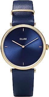 CLUSE 女式模拟石英手表皮革表带 CW0101208011
