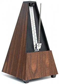 Wittner 金字塔形状节拍器,塑料外壳,带铃814k