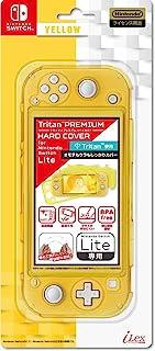 任天堂许可商品:任天堂Switch -Variation 硬质手机壳 Tritan(TM)高级硬质手机套 适用于任天堂 SWITCH Lite』 - Switch -Variation P 透明 黄色