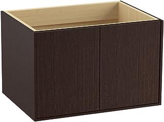 KOHLER K-99540-1WL 黄麻 30 英寸梳妆台,带双门,Laurentii 丝绸