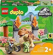 LEGO 乐高 DUPLO 得宝系列 T-雷克斯和三角龙的大雄 10939