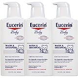 Eucerin 优色林 婴儿洗发沐浴二合一,13.5 液体盎司(约 400 毫升) 不含香料 13.5盎司 40.5